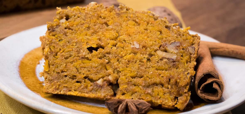 Gesunder Kürbiskuchen
