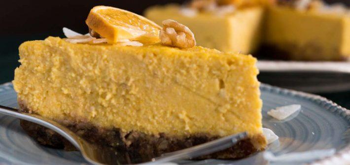 Kürbis Cheesecake
