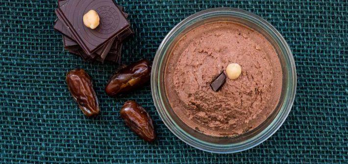 Schokoladen-Hummus