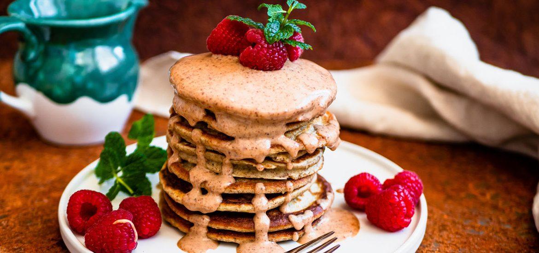 Gesunde Pancakes ohne Zucker